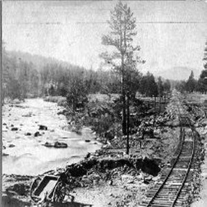 Truckee River, below Truckee Station
