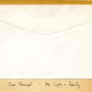 Card from the Lights to Mitzi Naohara