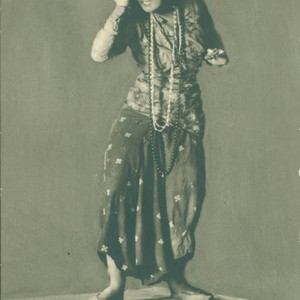 "Ruth St. Denis in ""Lakme"""