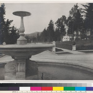 St. Francis Wood Circle fountain (2), San Francisco, c. 1912