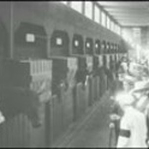 [Film footage of the Panama-Pacific International Exposition]