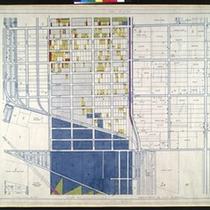 WPA Land use survey map for the City of Los Angeles, book ...