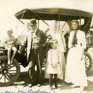George Reyburn and family, Garden Grove