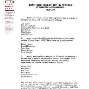 Joint Task Force on the HIV Epidemic