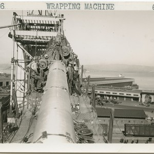 Wrapping machine, 3-2-36, 6-2001