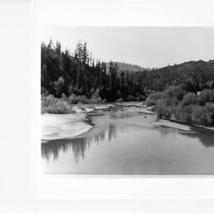 Russian River west of Monte Rio