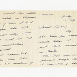 Letter from Edward Vincent Dockweiler to Isidore B. Dockweiler, July 13, 1941