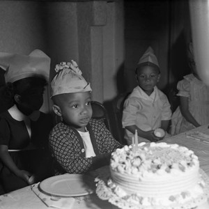 Children's party, Los Angeles, 1949