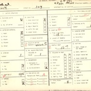 WPA household census for 329 5TH AVE, Los Angeles County