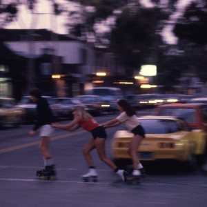 UCI Students Rollerskating in the Street
