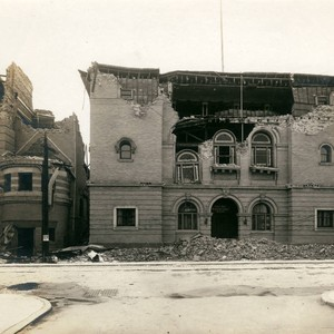 Albert Pike Memorial Chapel and Synagogue, San Francisco Earthquake and Fire, 1906 ...