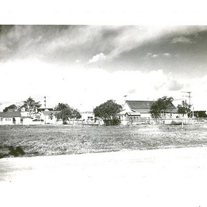 West Bolivar in Santa Rita, looking north, with Masa's store visible; LaVerne ...