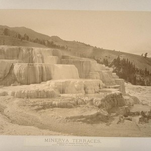Minerva Terraces, Mammoth Hot Springs, National Park