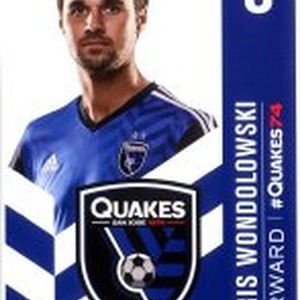 8 Chris Wondolowski Forward / #Quakes74