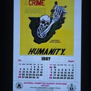 Apartheid a crime against humanity ... 1987 July - August
