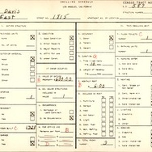 WPA household census for 1815 E 108 ST, Los Angeles County