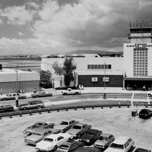 Burbank-Glendale-Pasadena Airport terminal, early to mid-1980s