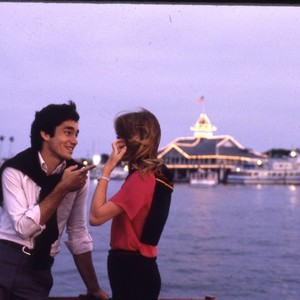 Candid Shot of Couple in Front of the Harbor