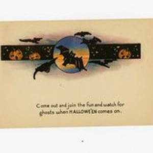 Come out and join the fun and watch for ghosts when Hallowe'en ...