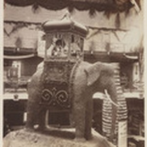 Walnut elephant from Los Angeles Co. Cal. Mid. Inter. Exp. S. F., ...