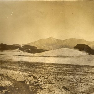 View of Mount Tamalpais, above Fairfax Bolinas Road, 1913 [photograph]