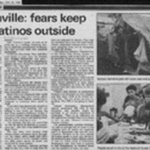 Watsonville: fears keep many Latinos outside