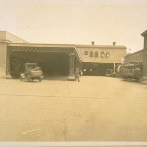 S.P. [Southern Pacific] Baggage Room opp. the Old Post Office at Pier ...