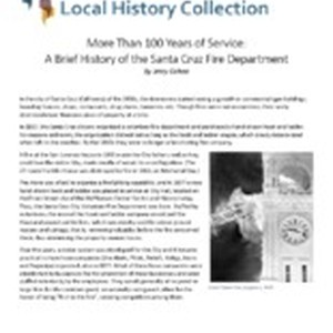 More Than 100 Years of Service: A Brief History of the Santa ...