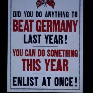 Did you do anything to beat Germany last year! You can do ...