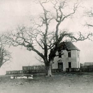 The Bickerstaff house in Larkspur, circa 1888 [photograph]