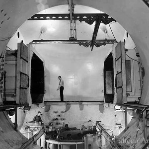 Top side of metrical system of the Southern California Cooperative Wind Tunnel ...