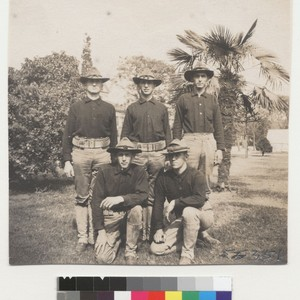 [Group portrait of soldiers.]