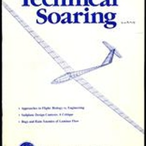 Natural and artificial flying machines, Technical Soaring Vol. 9, No. 3 (9 ...