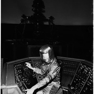 Planetarium machine at Griffith Park Observatory, 1960