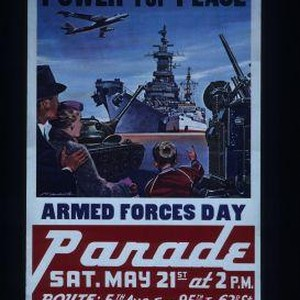 Power for peace. Armed Forces Day parade, Sat. May 21st at 2 ...