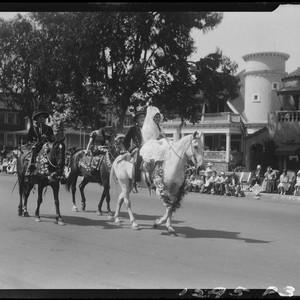 Calisphere Spanish Style Horseback Riders Santa Monica Pioneer