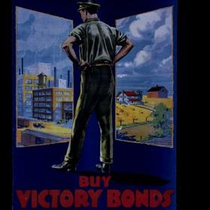 Re-establish him. It's up to us. Buy Victory Bonds