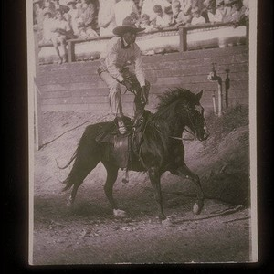 Will Rogers Jr. at Uplifters Ranch in Santa Monica Canyon