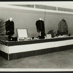Fire Prevention exhibition : clothing display