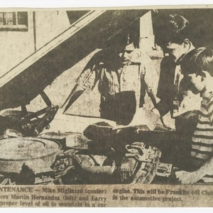 Merced County 4-H Historical Stuff, The Sixth Decade 1953-1962, Car Maintenance Sat ...