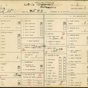 WPA household census for 4544 HUBBARD AVE, Los Angeles County