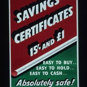 Savings certificates ... easy to buy, easy to hold, easy to cash. ...