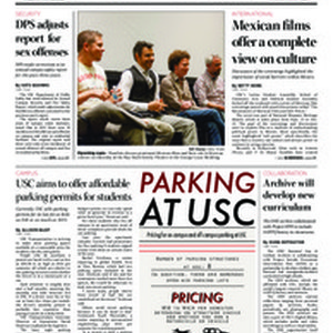 Daily Trojan, vol. 180, no. 29, Oct 07, 2013