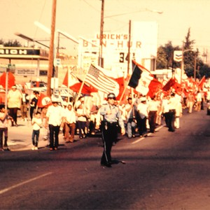 UFW March during the 1973 Strike
