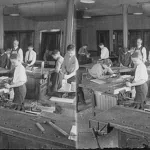 Calisphere Woodworking Altgeld Public School Chicago Ill