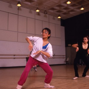 Students in the dance department