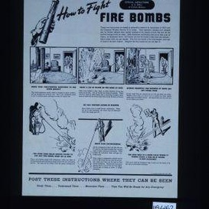 Important new instructions - revised July 1942. How to fight fire bombs. ...
