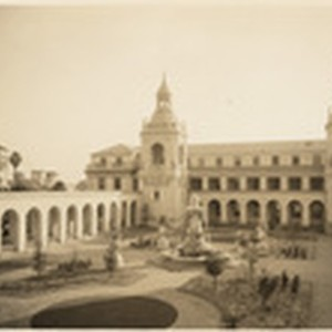 [Exterior views Pasadena City Hall, 100 North Garfield Avenue, Pasadena] (6 views)