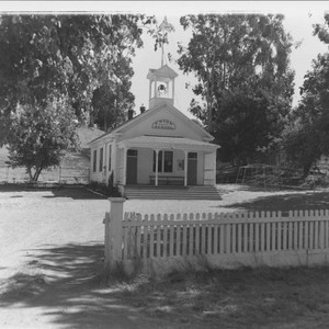 Union District School, Marin County, California, about 1953