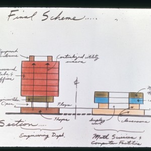 Plans for Engineering building